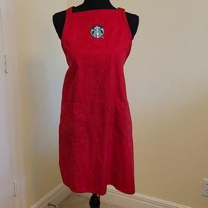 Starbucks Apron  - RED